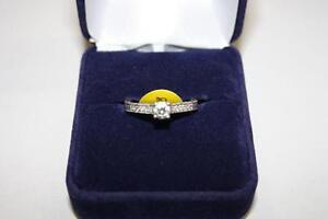 Bague en or sertie Diamants (A021158)