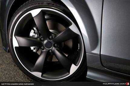19 INCH TTRS BLACK STYLE PACKAGE TO SUIT AUDI A4 A3 A5 LAST SET!! Banksia Rockdale Area Preview