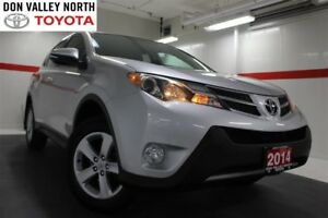 2014 Toyota RAV4 XLE AWD Sunroof Btooth BU Cam Heated Seats