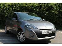 RENAULT CLIO 1.2 TCE Dynamique TomTom 5dr **2 OWNERS++FULL SERVICE HISTORY** (grey) 2010