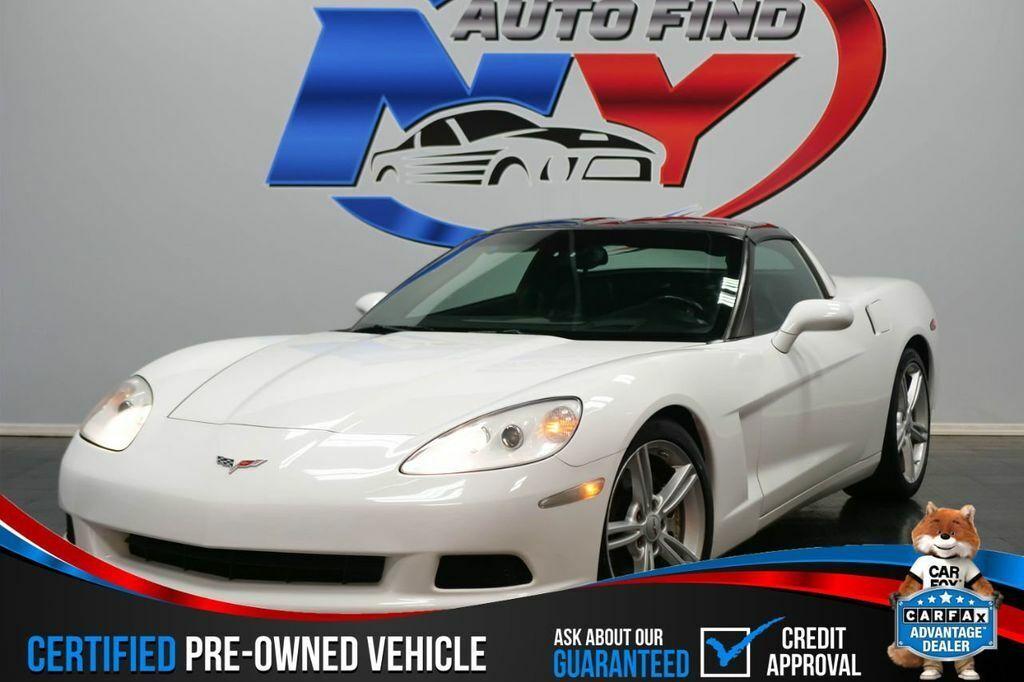 2005 White Chevrolet Corvette   | C6 Corvette Photo 1