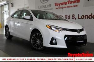 2015 Toyota Corolla LOADED S TECH PACKAGE LEATHER NAV POWER SEAT