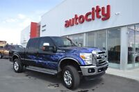 2011 Ford F-250 Lariat   Blue Flame Decals   Leather  