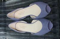 Talbots Ladies Shoes size 7W, flats, genuine leather upper, NEW