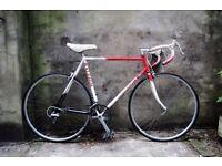 RALEIGH CORSA, 22 inch, 56.5 cm, Reynolds 531, vintage racer racing road bike, 12 speed