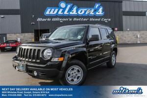 2014 Jeep Patriot NORTH 4WD! POWER PACKAGE! KEYLESS ENTRY! NEW B