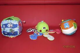 Sounds and music baby toys