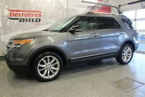 2014 Ford Explorer XLT Cuir+Toit+GPS AWD 7 Places