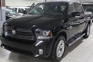 2014 Dodge Ram 1500 CREW SPORT PLUS 4X4 *CUIR/NAV/CAMERA RECUL*
