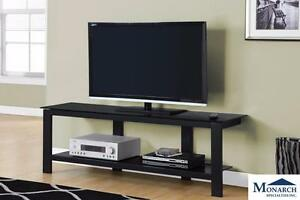 Brand NEW Black Metal TV Console! Call 709-726-6466!
