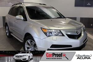 2012 Acura MDX Elite with AWD, nav, leather, sunroof, DVD, Bluet