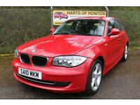 BMW 1 Series 116 D Sport Turbo Diesel 5DR (crimson red) 2010