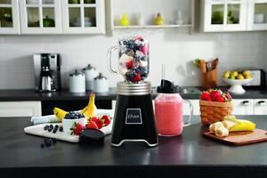Oster® Fresh+Blend'N Go™ Mason Jar Blender, Black
