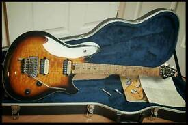 Peavey Wolgang USA 1997 pat. pend. 1st year quilt