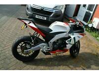 Aprilia rs4 125 reg as 50cc