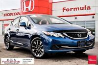 2013 Honda Civic EX-The new face lift does it wonders.