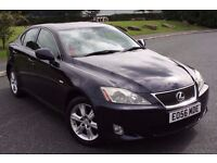 2006 (56) LEXUS IS220D DIESEL, 6 SPEED MANUAL, 4 DOORS SALOON, LONG MOT, DRIVES VERY WELL !!!