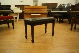 New black piano bench
