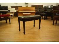 New black piano bench