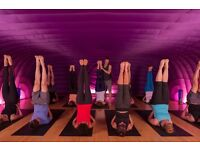 Karma Yogi - Helping hand for free Hot Yoga Class