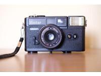 Vivitar 35EF + Olympus Accura Zoom 80 DLX film camera