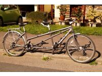 """Viking Tandem in very good condition. 24 gears, frame 19""""/17"""", surprisingly light, easy to handle."""