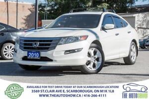 2010 Honda Accord Crosstour EX-L NAVI AWD Sunroof Leather