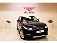 LAND ROVER RANGE ROVER SPORT 3.0 SDV6 HSE 5d AUTO 306 BHP + 1 OWNER + SERVICE HISTORY (black) 2016