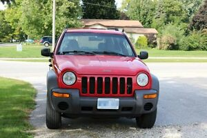 2002 Jeep Liberty 5 speed