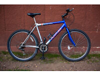 Venture Mountain Bike,Includes bottle holder! 18speeds,city centre,great for commuting.