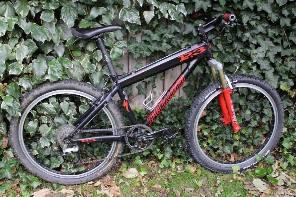 2001 Specialized P3 Mountain Bike Marzocchi Bomber Deore XT Hussefelt £250  | in Formby, Merseyside | Gumtree