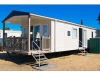 Luxury seafront static holiday home for sale