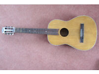 "Vintage 3/4 size ""Michigan"" classical guitar"