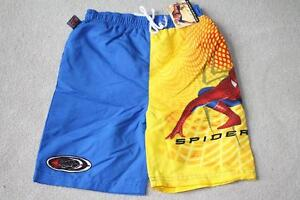 BRAND NEW - SPIDERMAN SWIM TRUNKS - SIZE 4