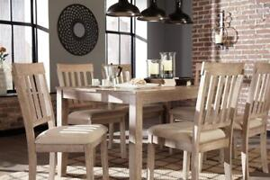 Mattilone Dining Set - ONLY 799!!! - FREE DELIVERY AND IN HOME SET-UP IN CALGARY!