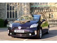 "2014 ""14"" Toyota Prius UK Model Hybrid ""T Spirit"" Top Spec - BLACK CHERRY PEARL - Exclusive Colour"