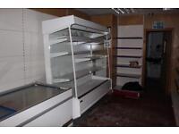 2.5m open fridge