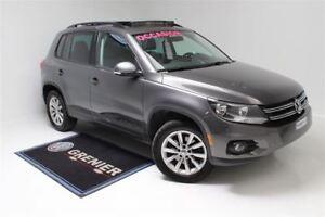 2014 Volkswagen Tiguan COMFORTLINE+4MOTION+TOIT