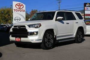 2014 Toyota 4Runner Limited 4.0L V6 4x4 Heated and Cooled Leathe