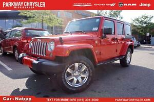 2016 Jeep WRANGLER UNLIMITED Sahara|BRAND NEW| 4X4| DUAL TOP| NA