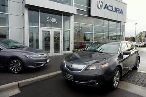 2012 Acura TL w/Elite Pkg
