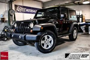 2012 Jeep Wrangler Sport BOTH TOPS! A/C!