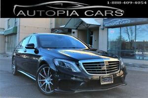 2015 Mercedes-Benz S-Class S63 AMG /// 4MATIC/ PREMIUM PKG /LOW