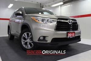 2015 Toyota Highlander LE AWD Btooth BU Camera Heated Seats Crui