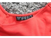 Topshop petite cut out dress