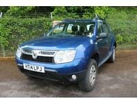 Dacia Duster 1.5 Ambiance DCi 110 Turbo Diesel 2WD (cosmos blue) 2014