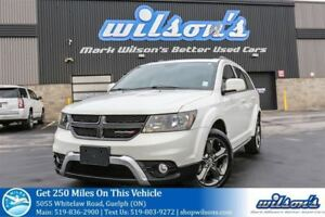 2015 Dodge Journey CROSSROAD AWD 7-PASS SUV! LEATHER! SUNROOF! H