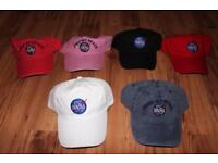 new NASA baseball caps