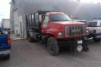 snow plow truck and hooklift for sale