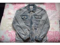 Mens vintage Topman denim jacket